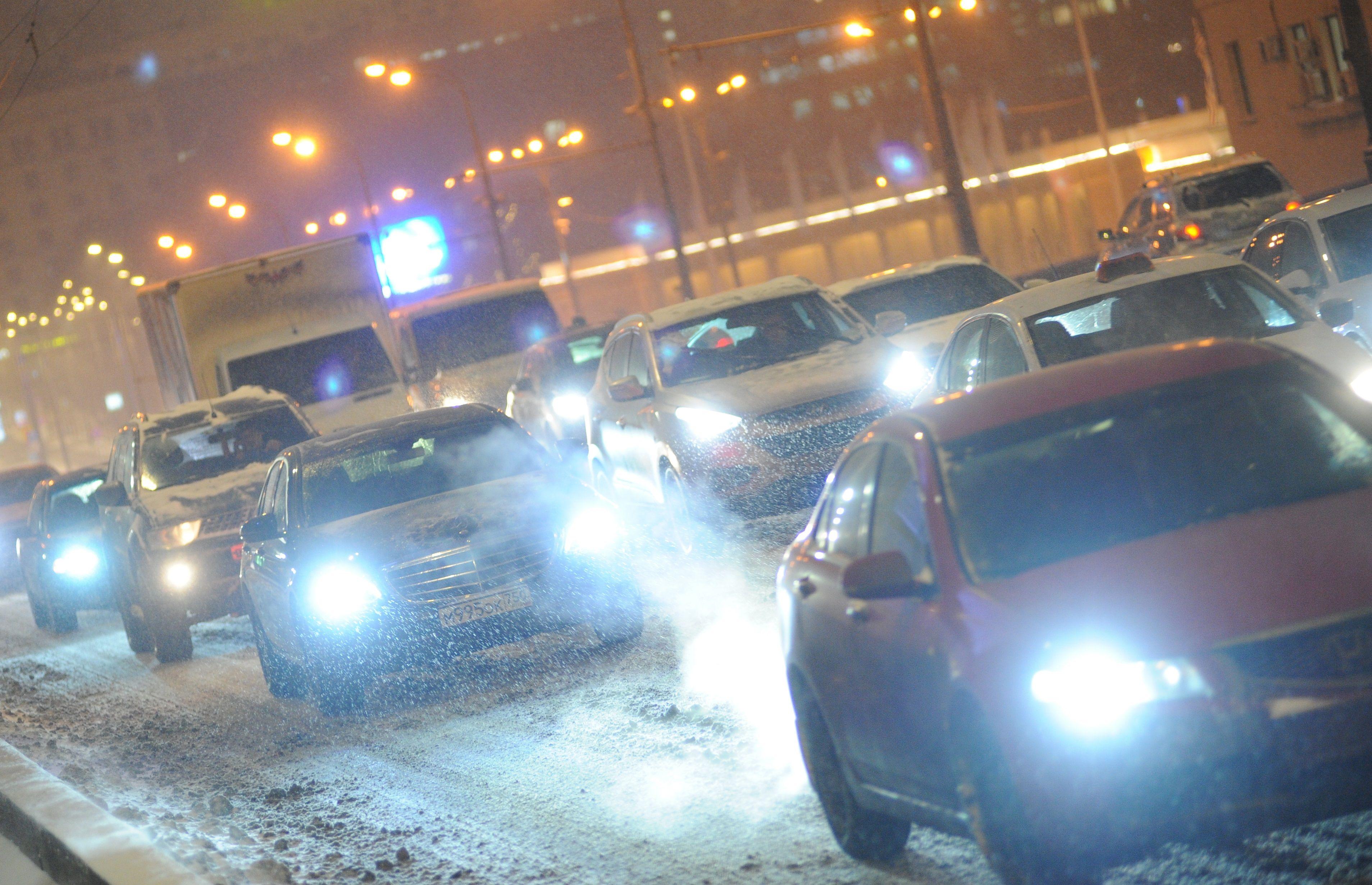 Снежные заносы спрогнозировали в Москве