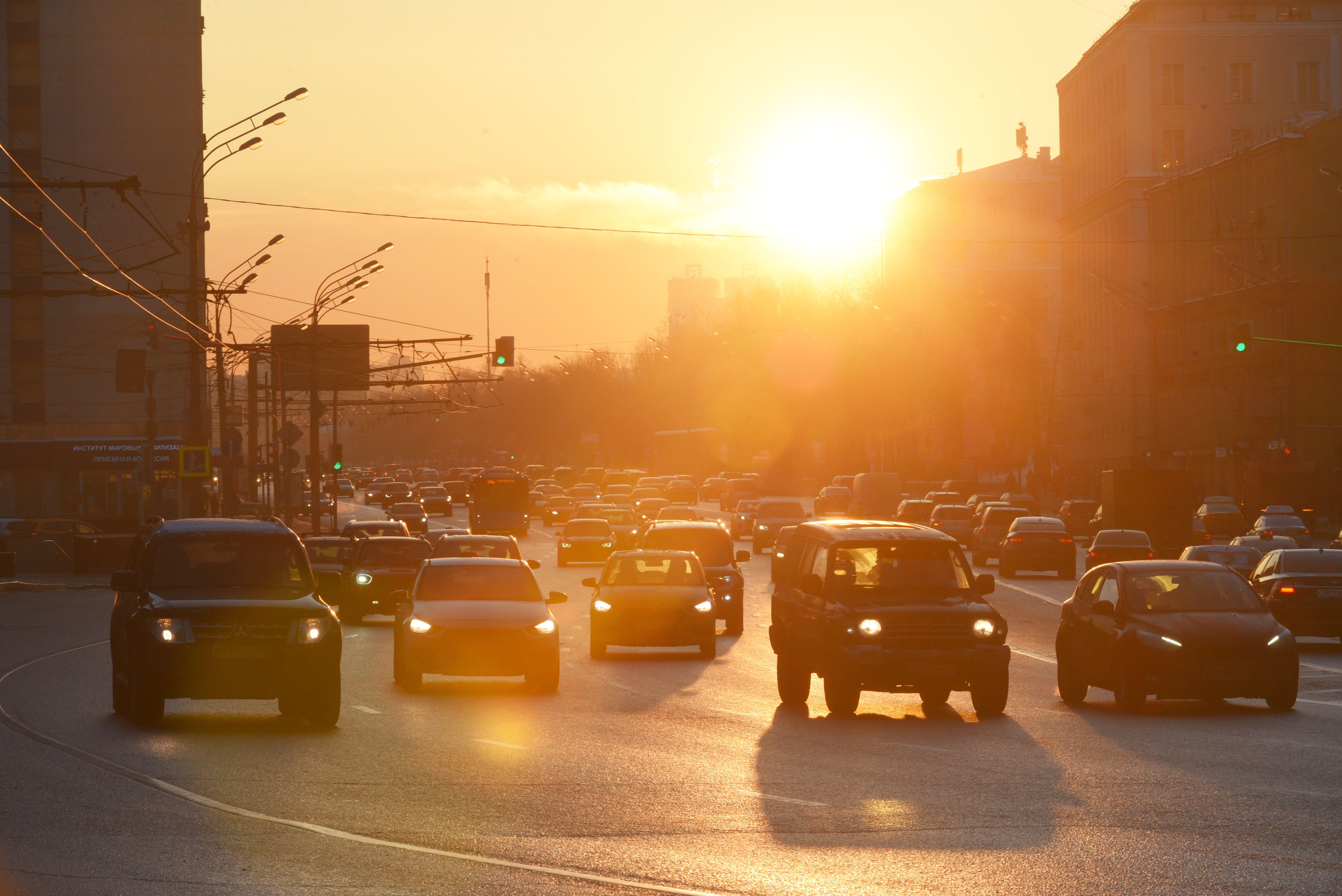 В Москве снизился уровень концентрации выхлопных газов