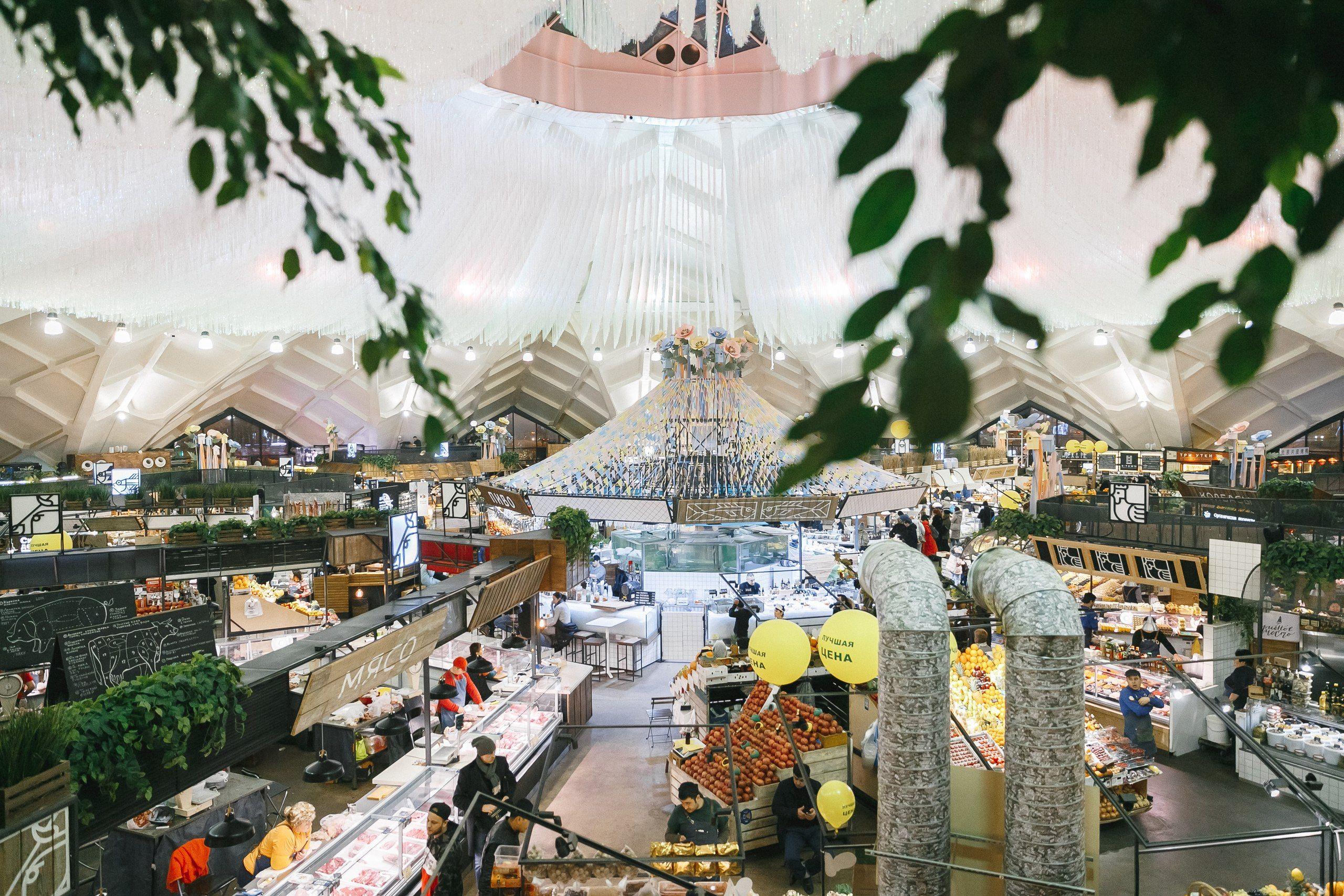 Профилактические уборки стартовали на Даниловском рынке