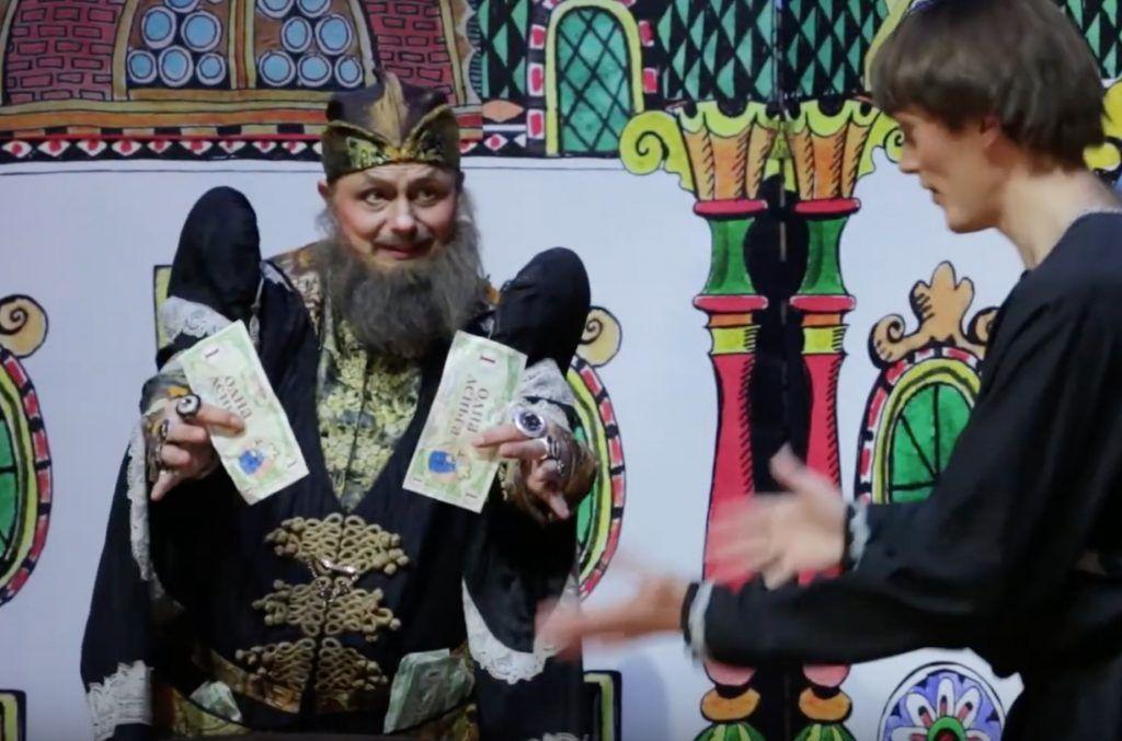 Новые онлайн-проекты запустили в «Театриуме на Серпуховке». Фото: скриншот утреннего выпуска