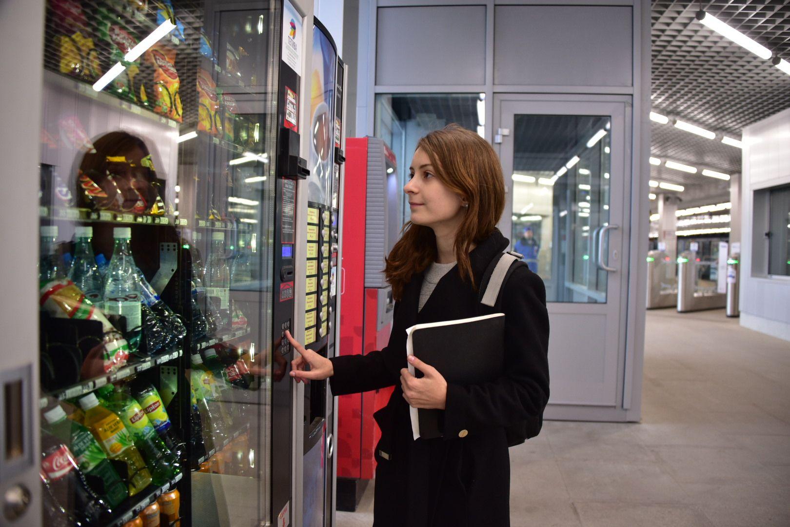 Более 90 тысяч литров горячих напитков приобрели пассажиры метро зимой