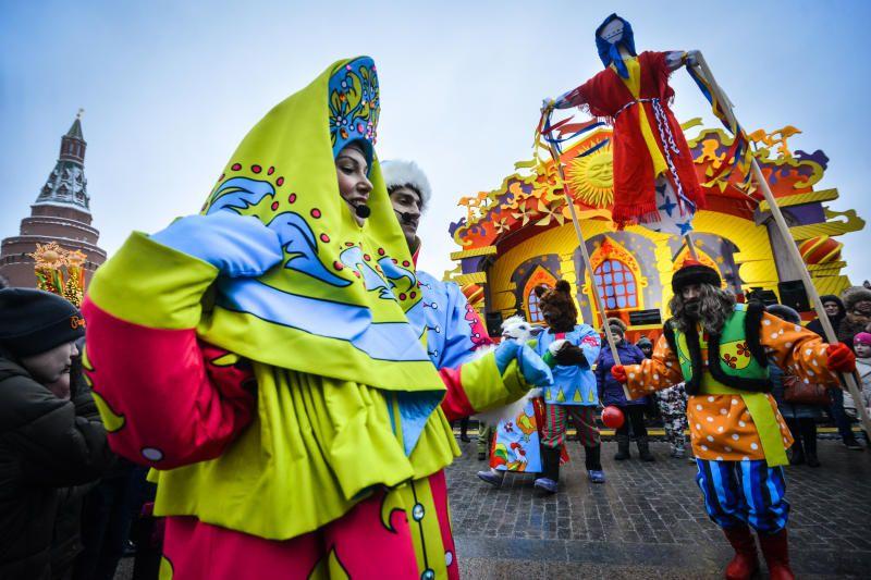 Праздники и фестивали почти каждые выходные будут проводить в Москве