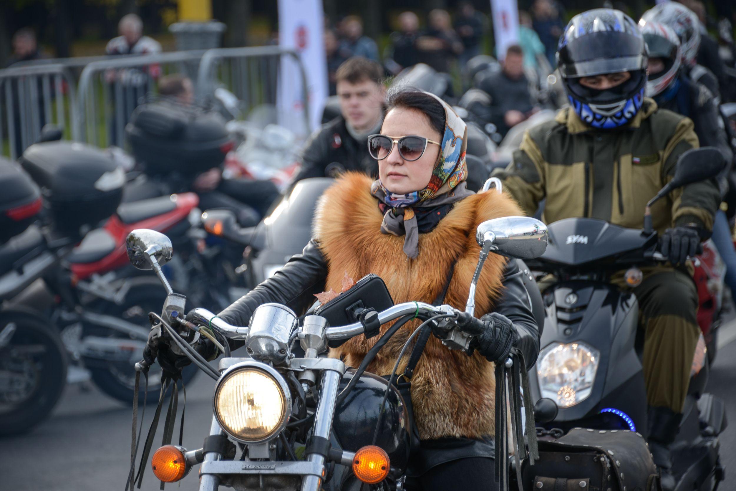 Московским байкерам пригрозили заморозками