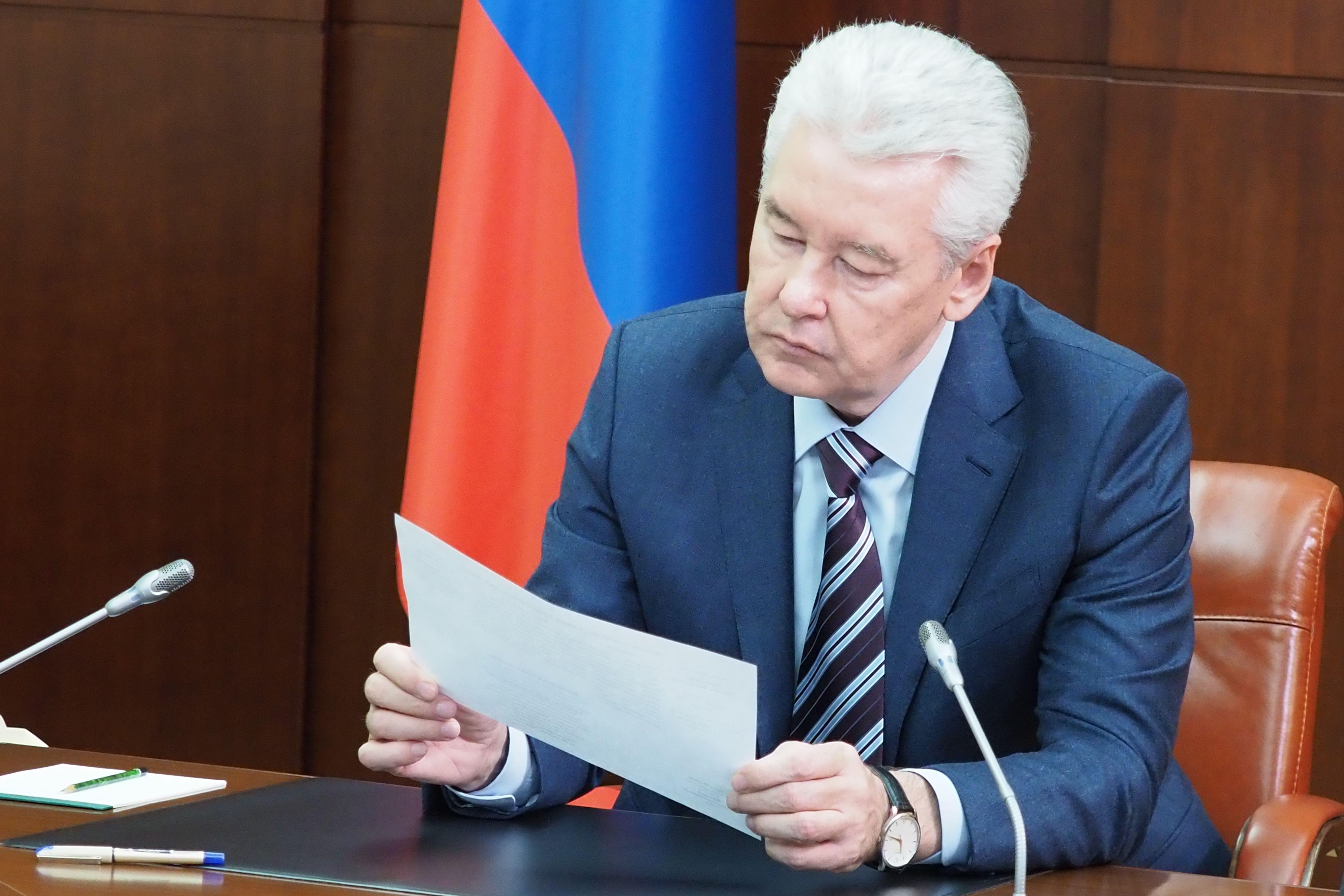 Собянин освободил москвичей от платы за капремонт на три месяца