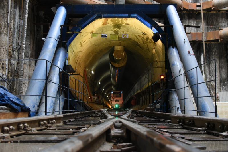 Власти Москвы планируют завершить проходку тоннелей на БКЛ в 2021 году