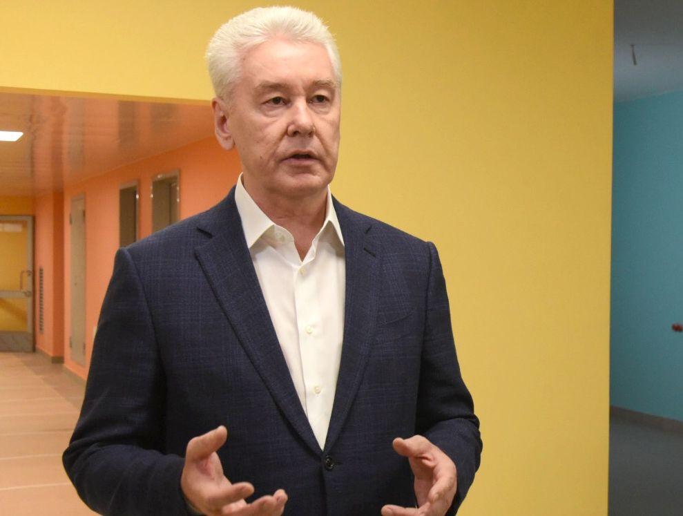 Собянин осмотрел ход строительства Инфекционной больницы в Новой Москве