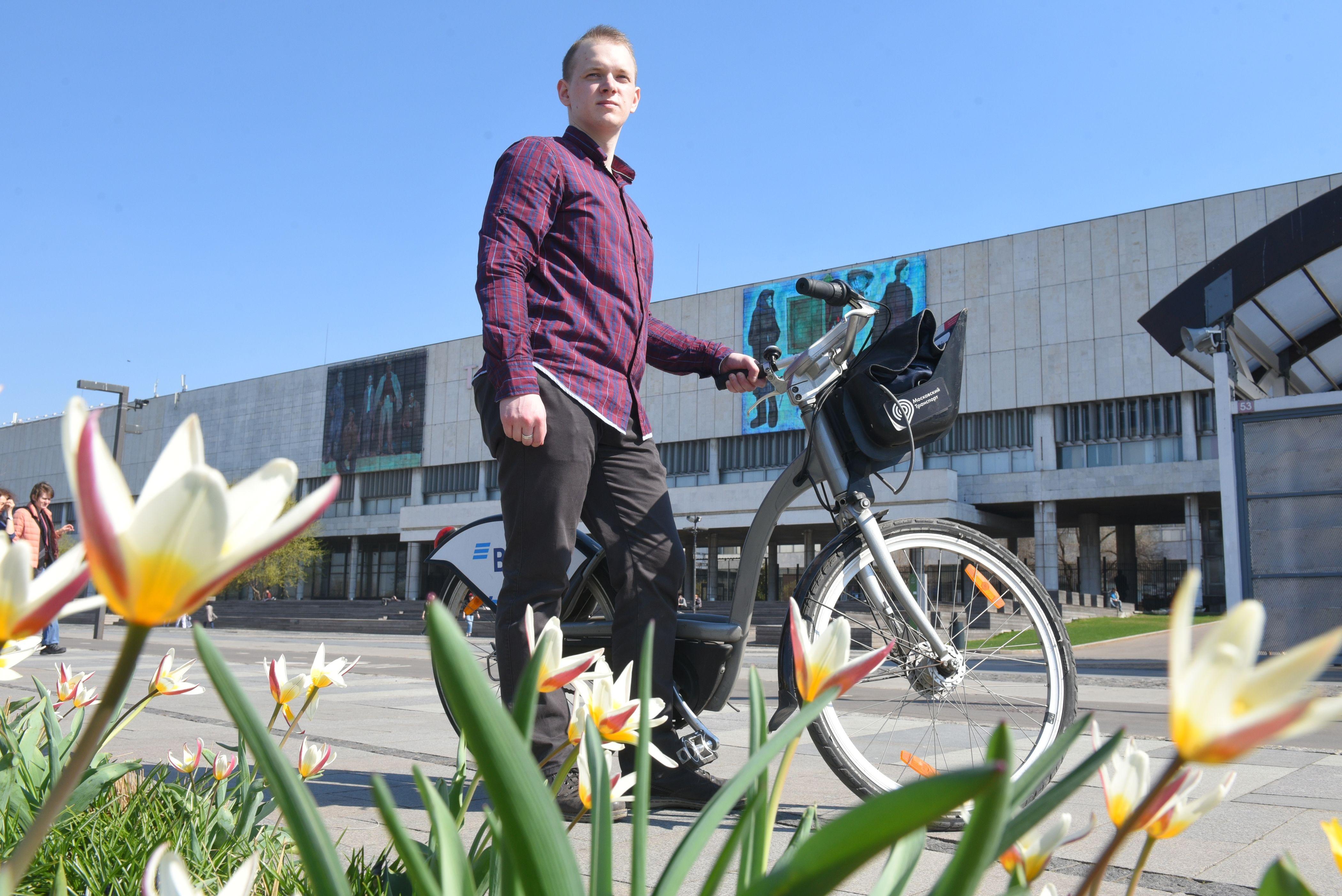 Москва предоставит почти шесть тысяч велосипедов напрокат в 2020 году