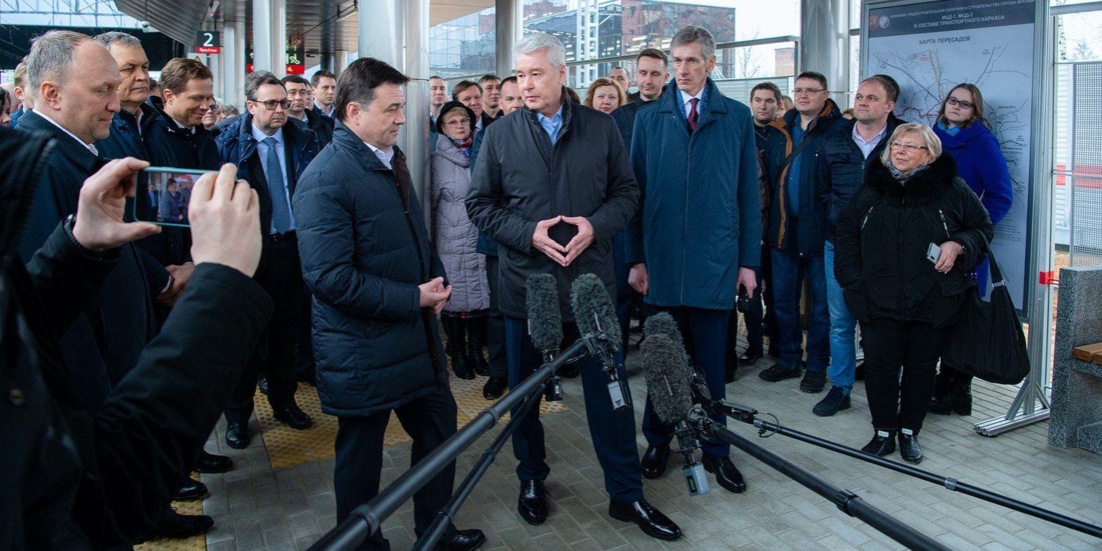 Две платформы открыли на Киевском направлении МЖД