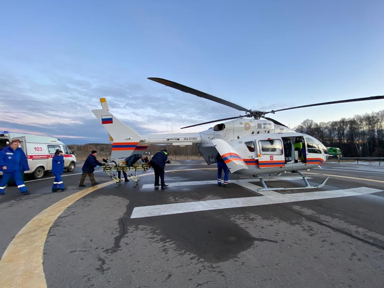 Сотрудники Московского авиацентра в феврале спасли 29 человек