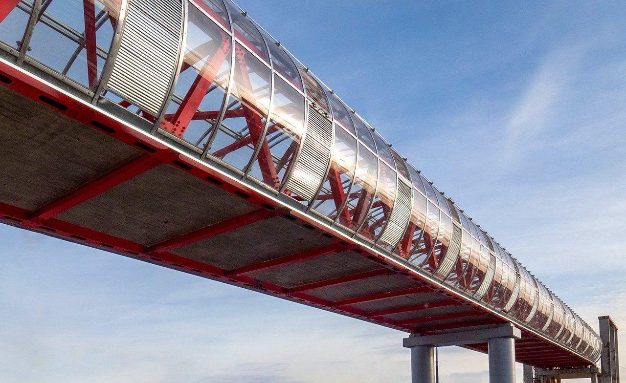 Переход через МКАД в Бирюлеве Восточном оснастят системами безопасности