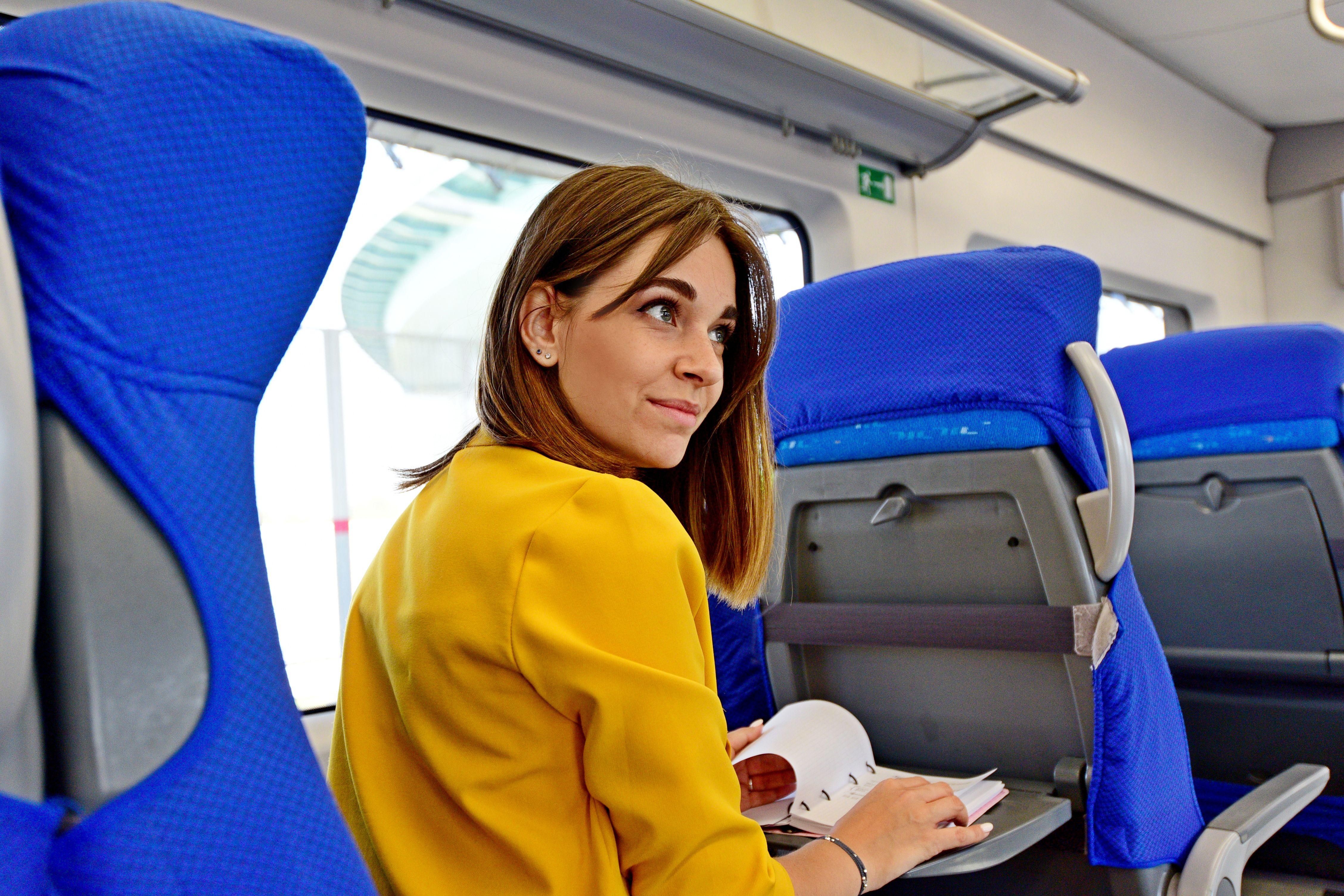 Вагоны тишины и зеленые места появились в поездах МЦК
