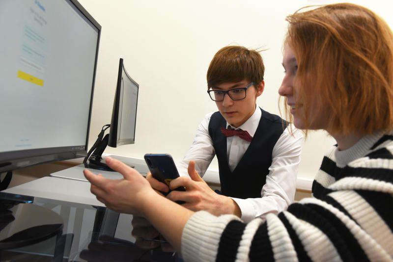 Школьники продолжили обучение в дистанционном режиме.Фото: Александр Кожохин