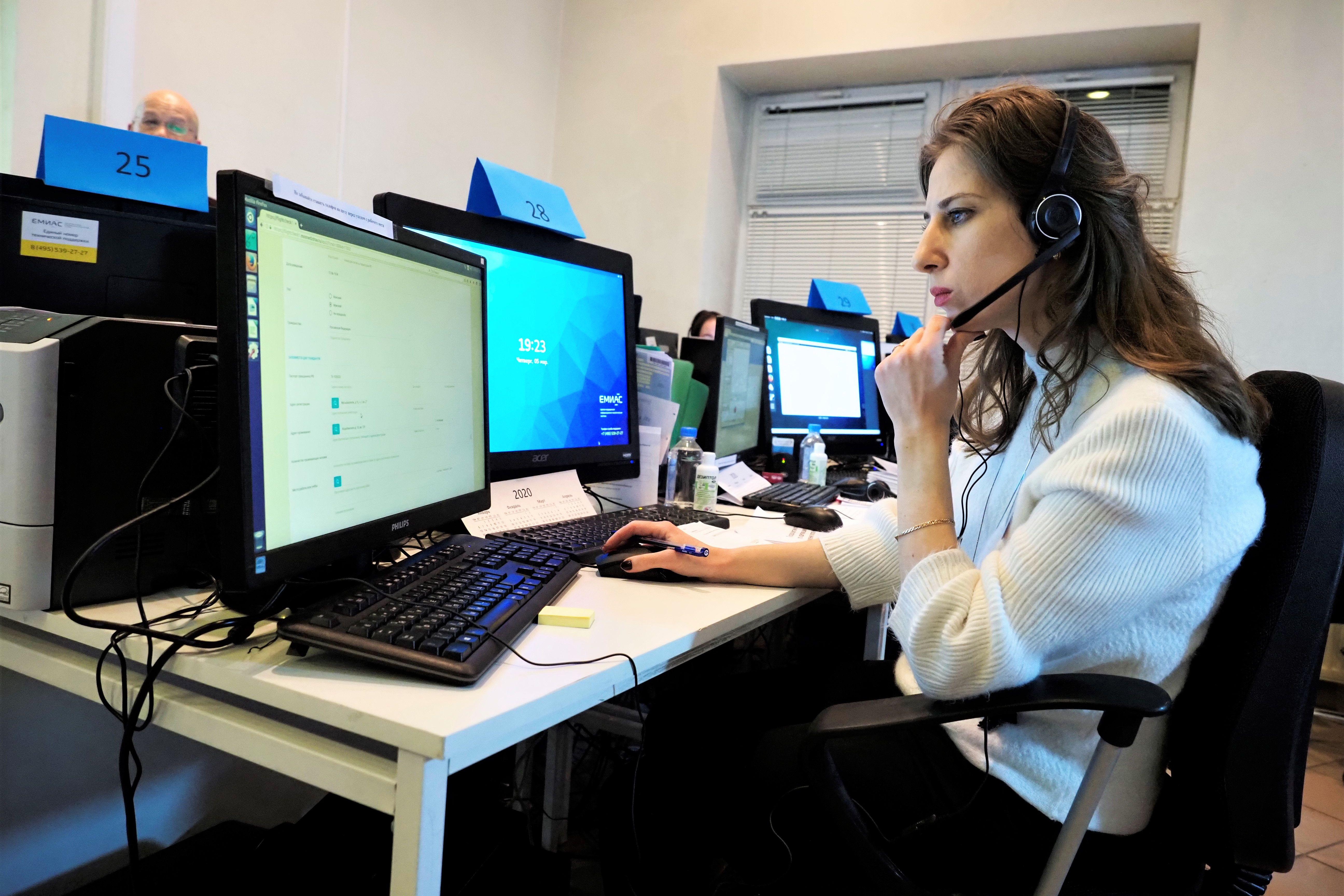 Социальные работники ТЦСО «Орехово» ежедневно принимают более 200 обращений