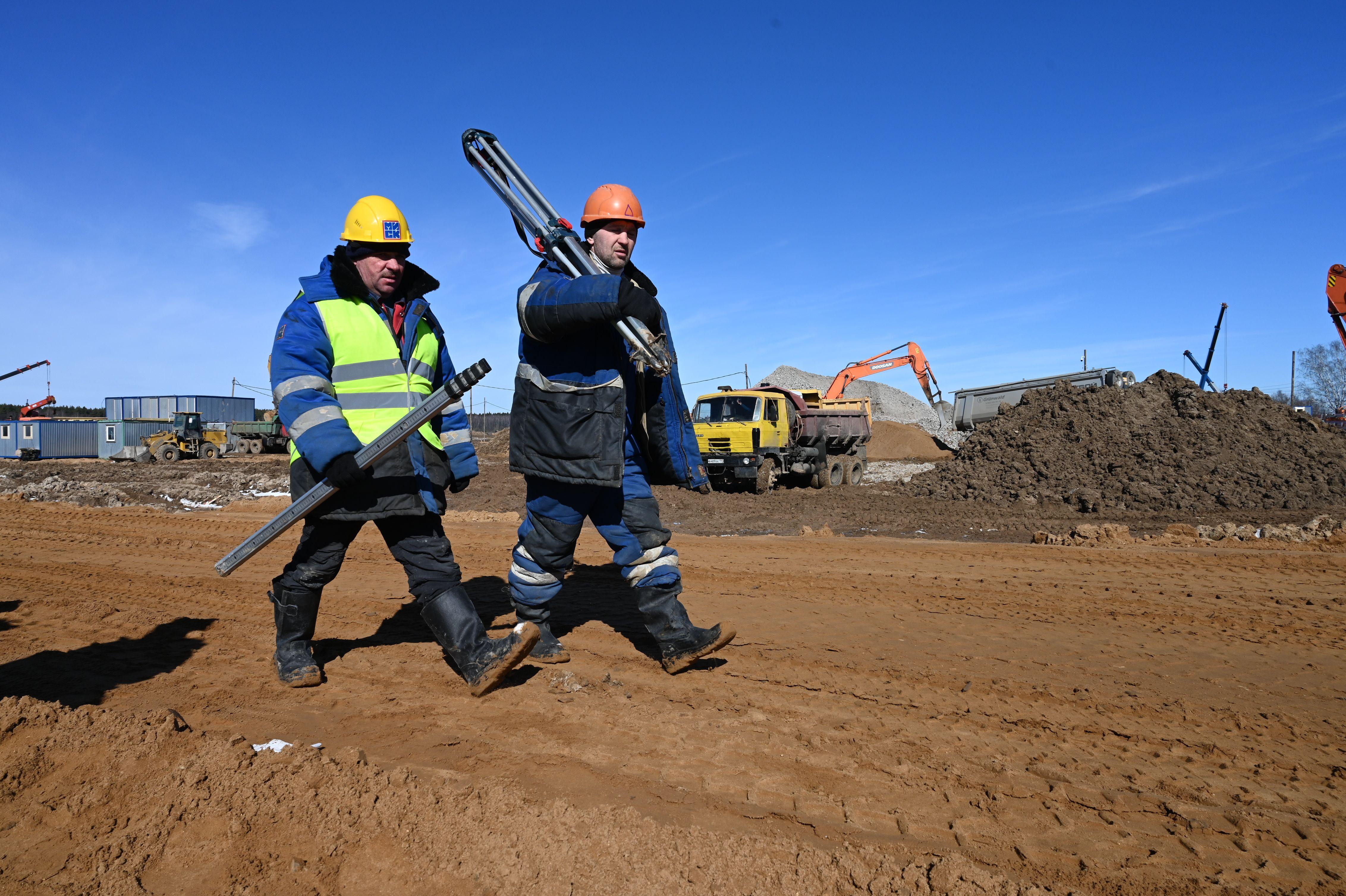Москвичам пообещали 62 километра новых дорог в 2020 году