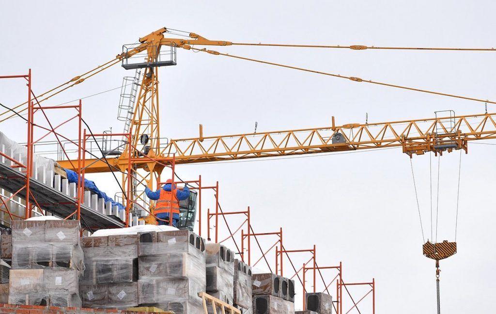 Строительство дома в жилом комплексе на территории ЗИЛ завершили. Фото: сайт мэра Москвы