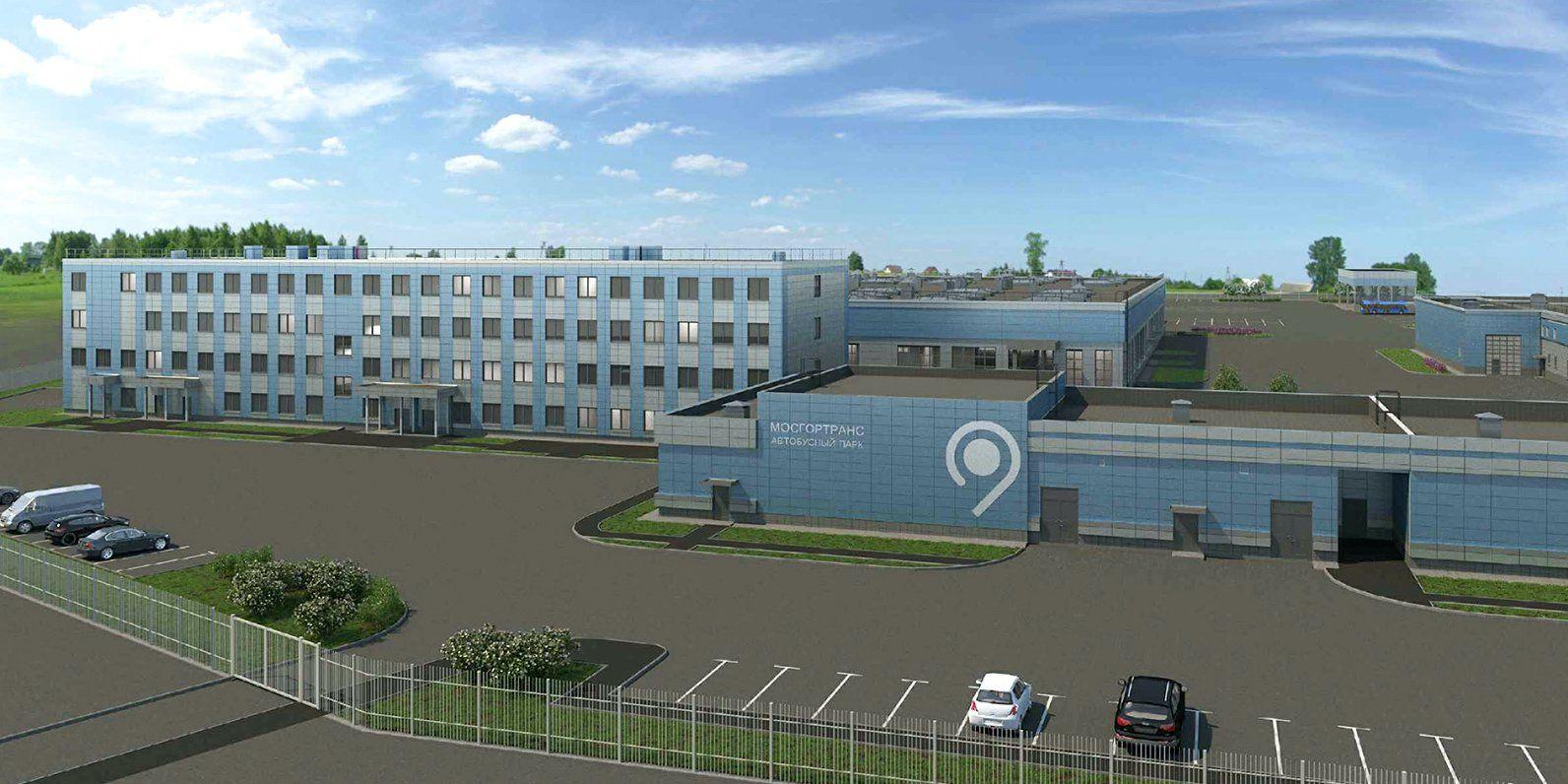 Новый автобусный парк построят в Москве