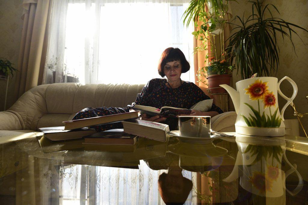 ....чтением. Фото: Пелагия Замятина