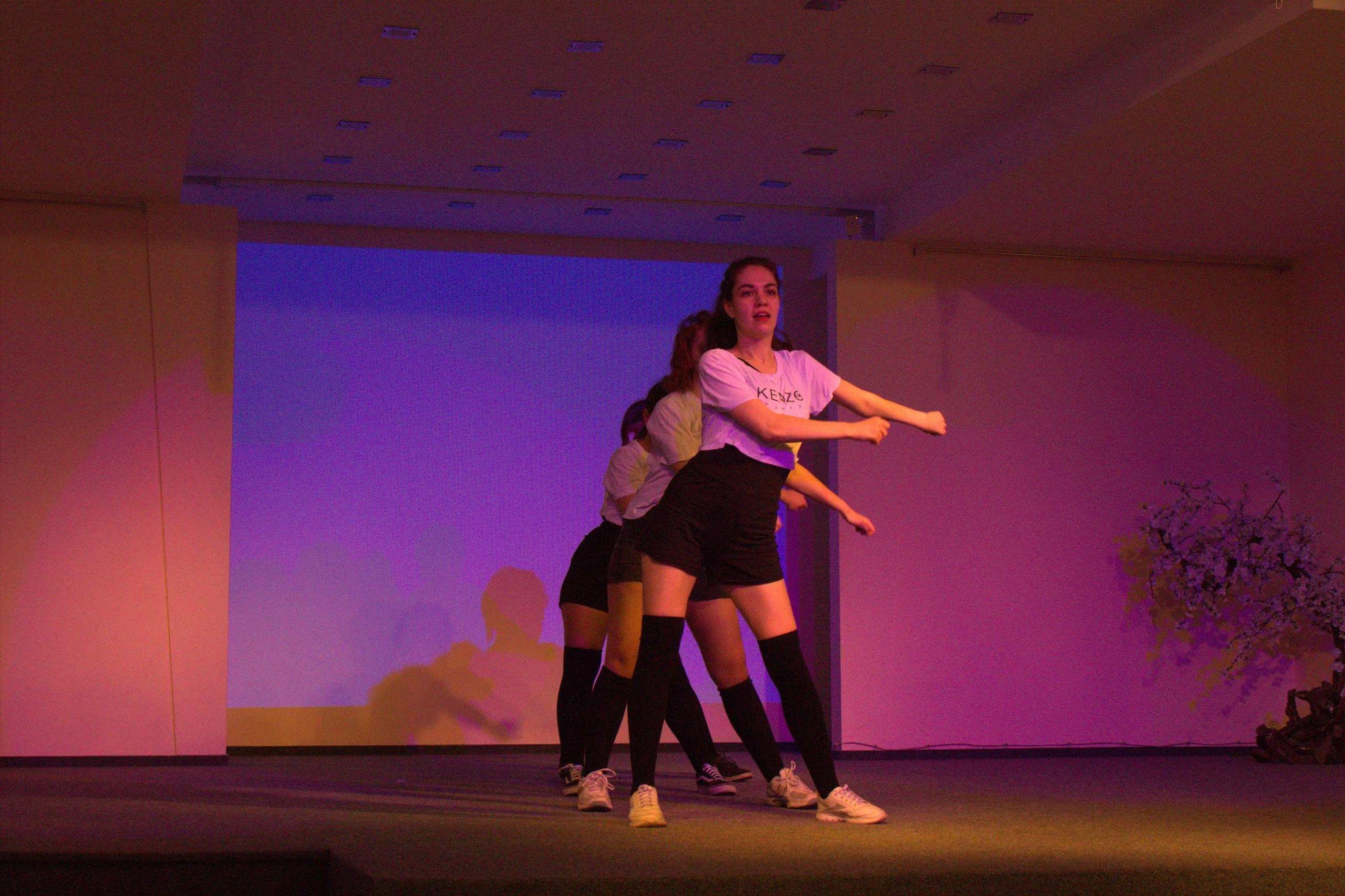 Танцевальный вебинар проведут для студентов технологического колледжа №34