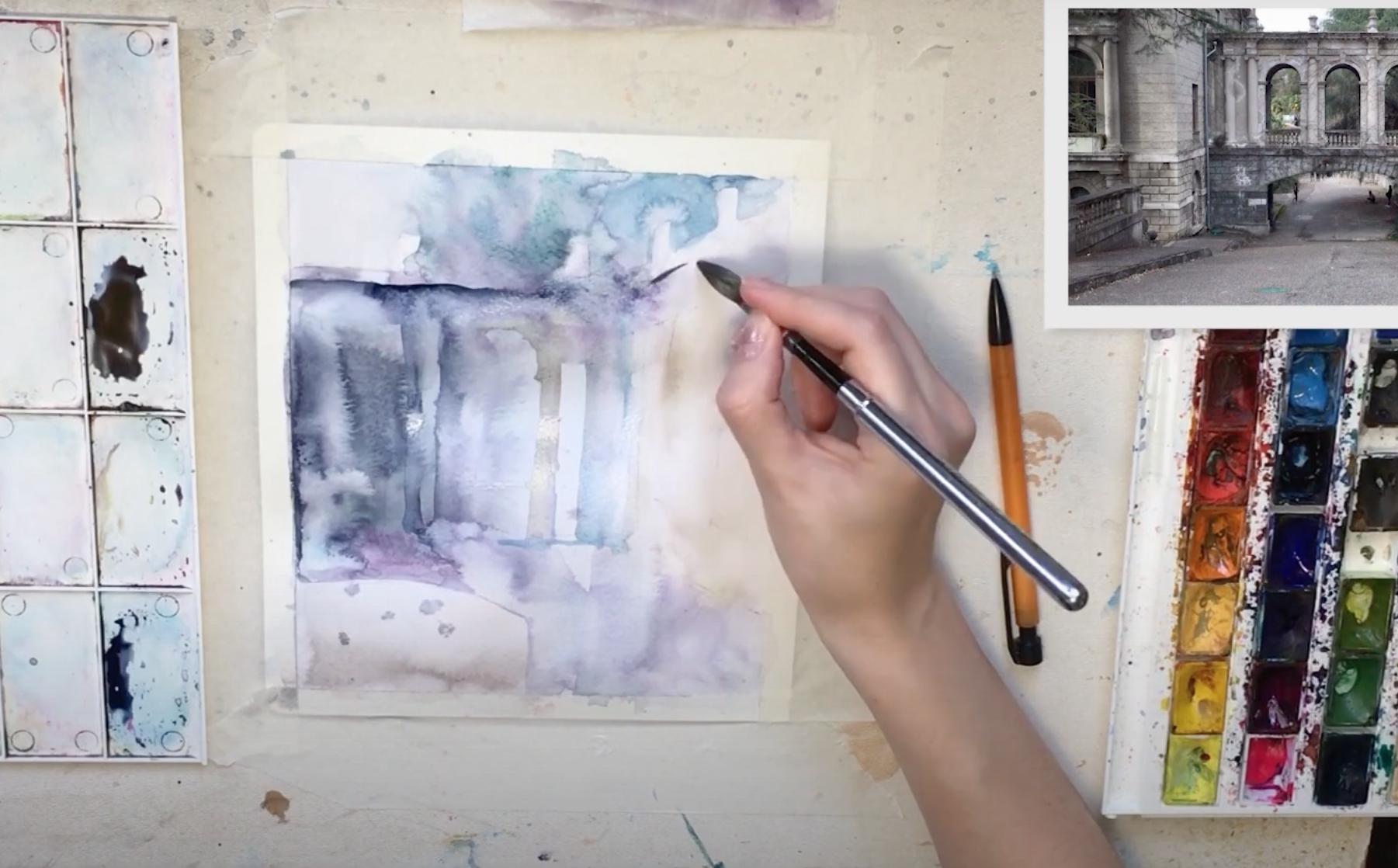 Виртуальный пленэр: серию видеоуроков по живописи запустили в ЗИЛе