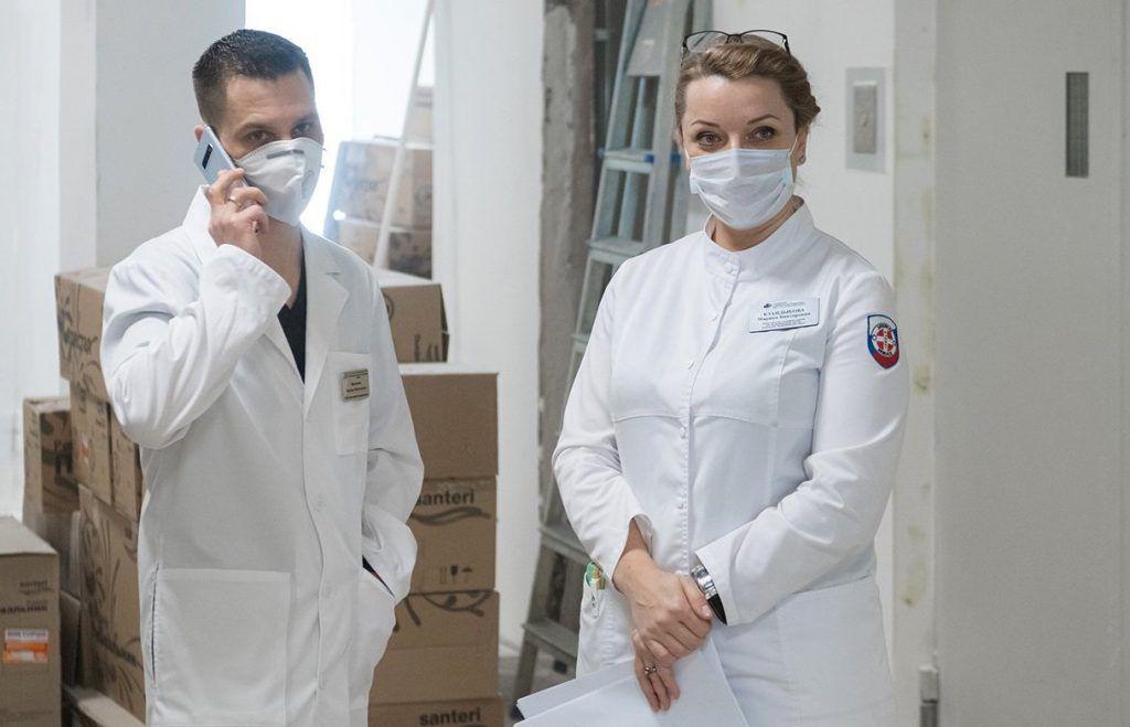 К борьбе с коронавирусом подключились частные клиники. Фото: сайт мэра Москвы