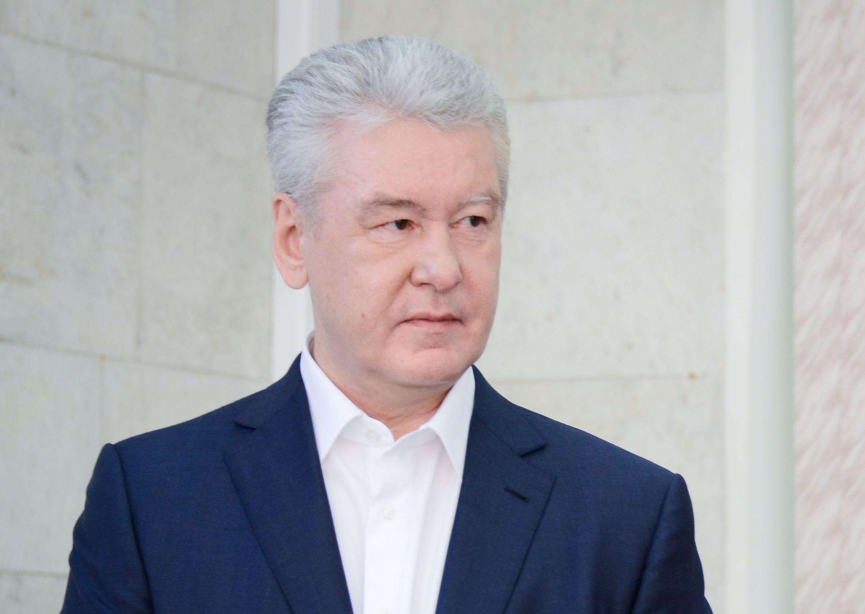 Собянин открыл коронавирусный стационар в Госпитале ветеранов войн № 3