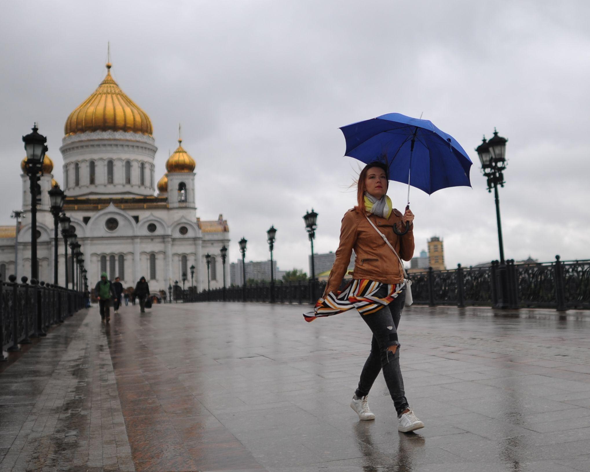Выходные в Москве будут теплыми