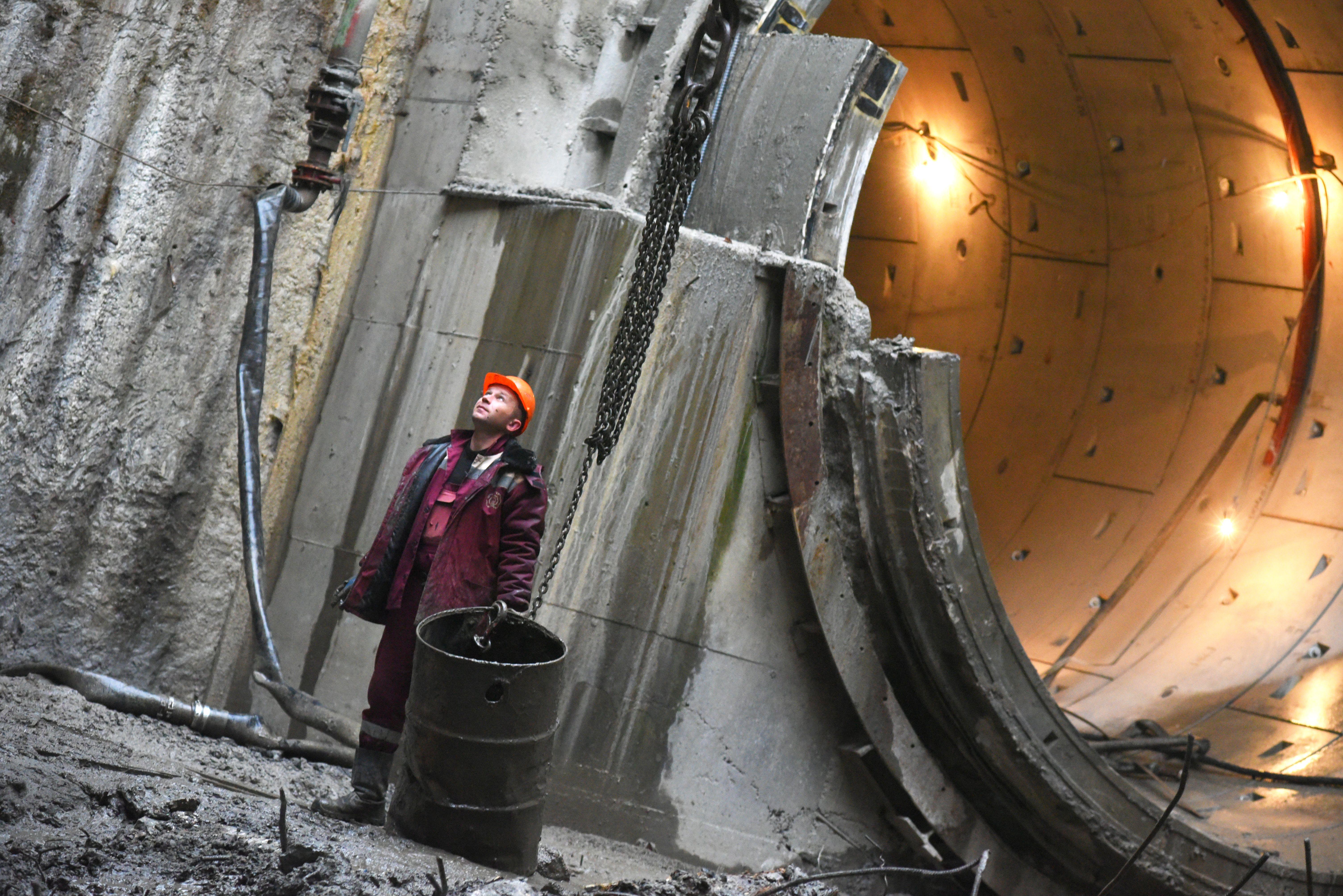 Готовность тоннелей БКЛ оценили на 80 процентов