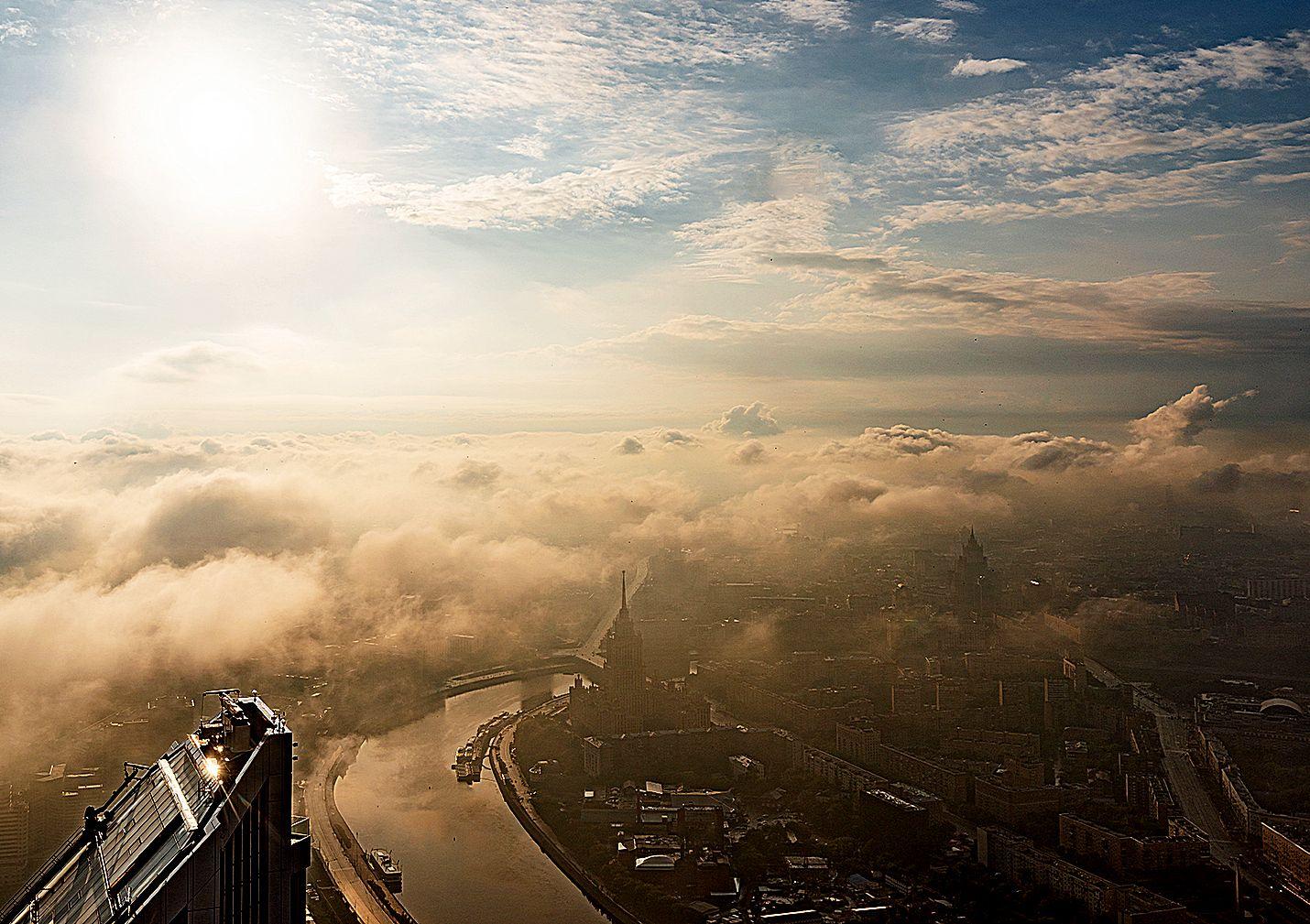 Москву ждут 25-градусная жара в воскресенье