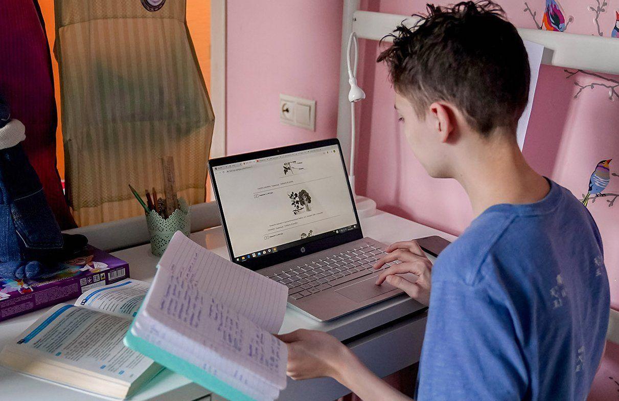 Уроки онлайн: как проходят занятия у столичных школьников