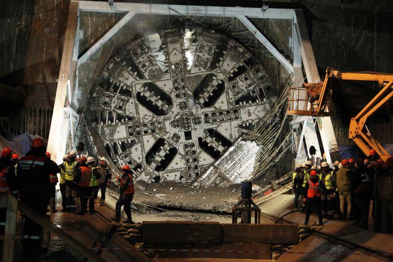 В Москве проложили левый тоннель между станциями БКЛ метро «Нижегородская» и «Текстильщики»