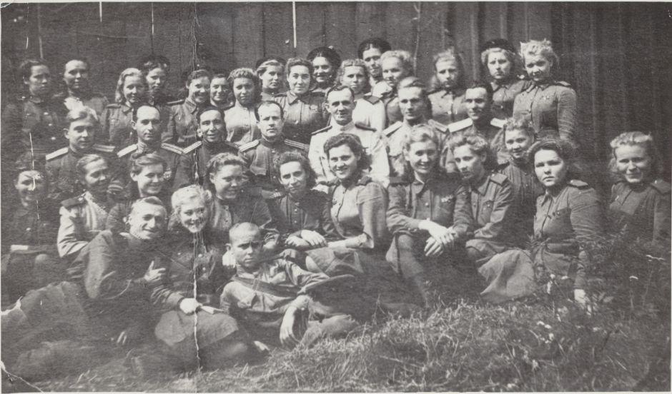 После службы под Можайском Екатерину Евдокимову направили в Беларусь. Фото: сайт «Бессмертный полк Москва»