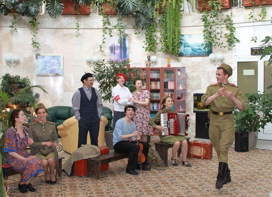 Онлайн-программу ко Дню Победы подготовили в «Театриуме»