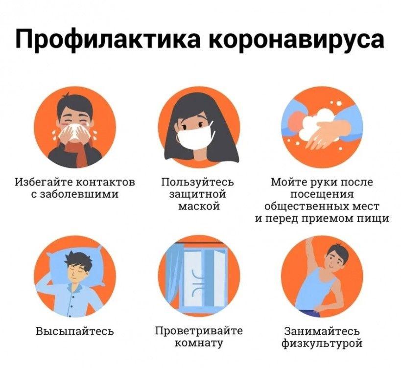 ГОЧСиПБ напоминает правила профилактики коронавируса