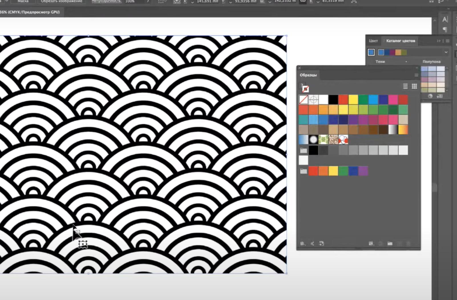 Создавать узоры в графическом редакторе научили в технологическом колледже №34