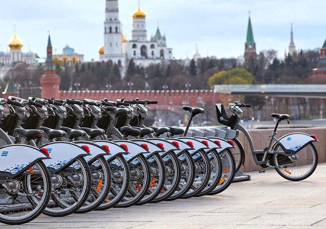 В Москве с понедельника пользоваться велопрокатом смогут все желающие