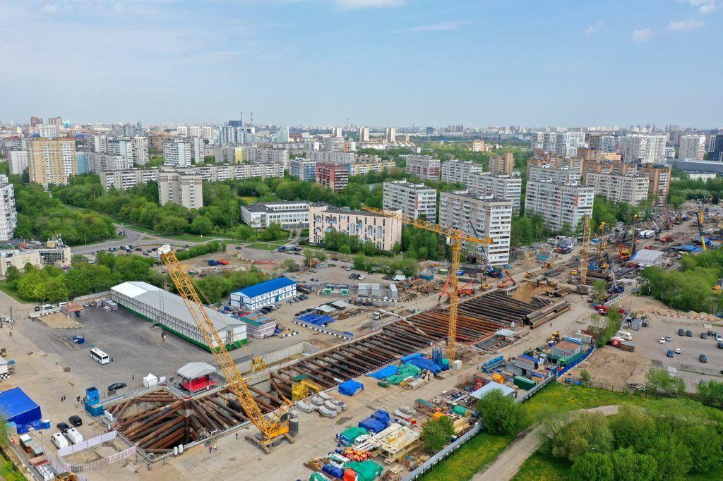 Строительство тоннеля между станциями БКЛ «Кленовый бульвар» и «Каширская» завершат осенью. Фото: сайт Комплекса градостроительной политики и строительства Москвы
