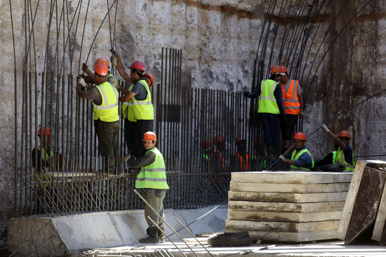 Монолитные работы на станции «Улица Народного Ополчения» готовы на 80 процентов