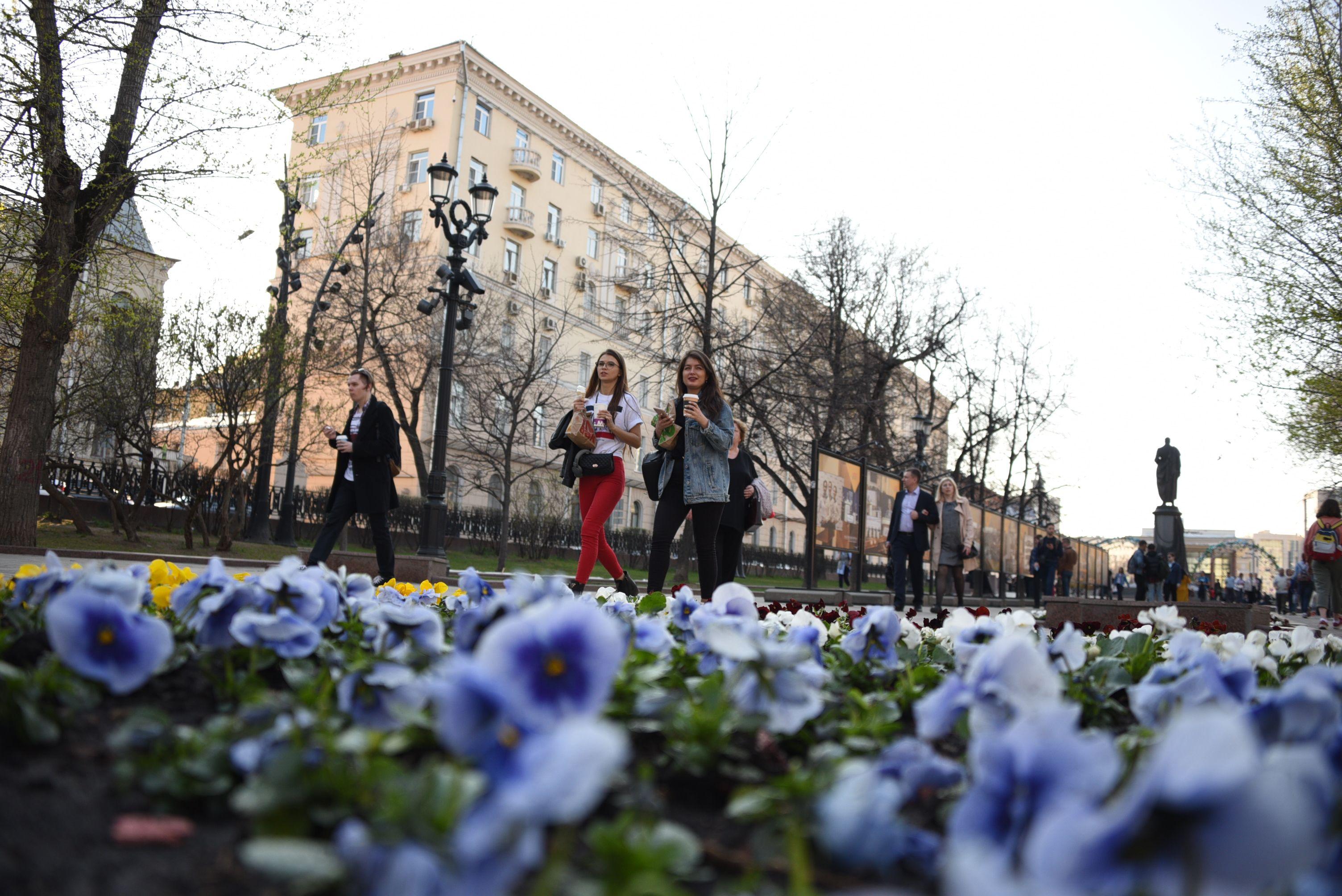 Воздух в Москве прогреется до плюс 22 градусов