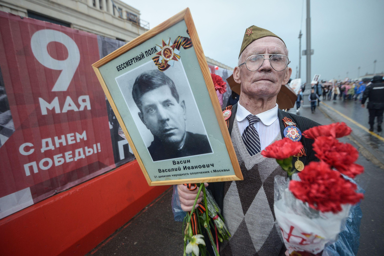Сайт мэра Москвы запустил спецпроект к 9 Мая
