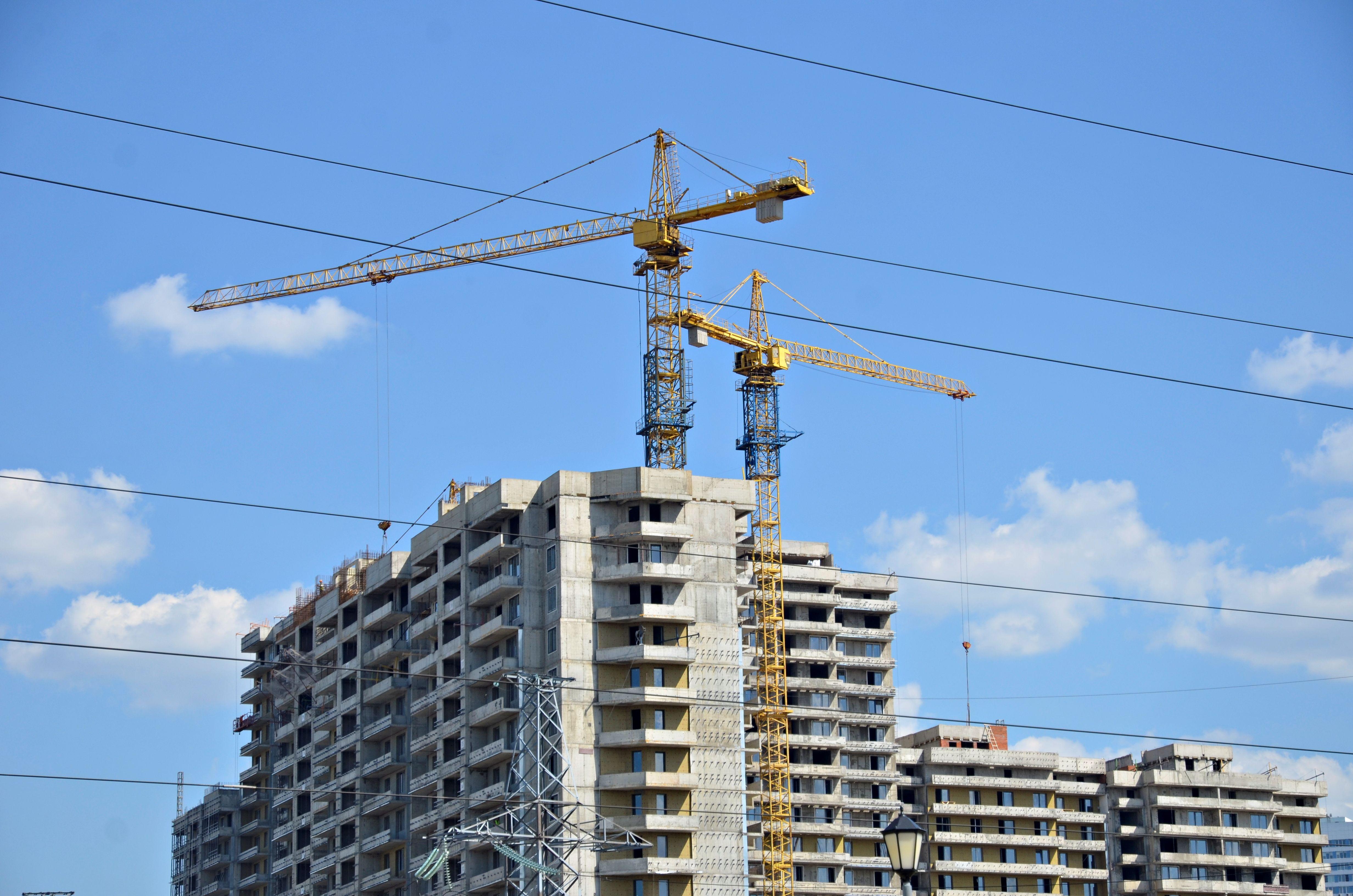 Две симметричные жилые башни построят в Москворечье-Сабурово