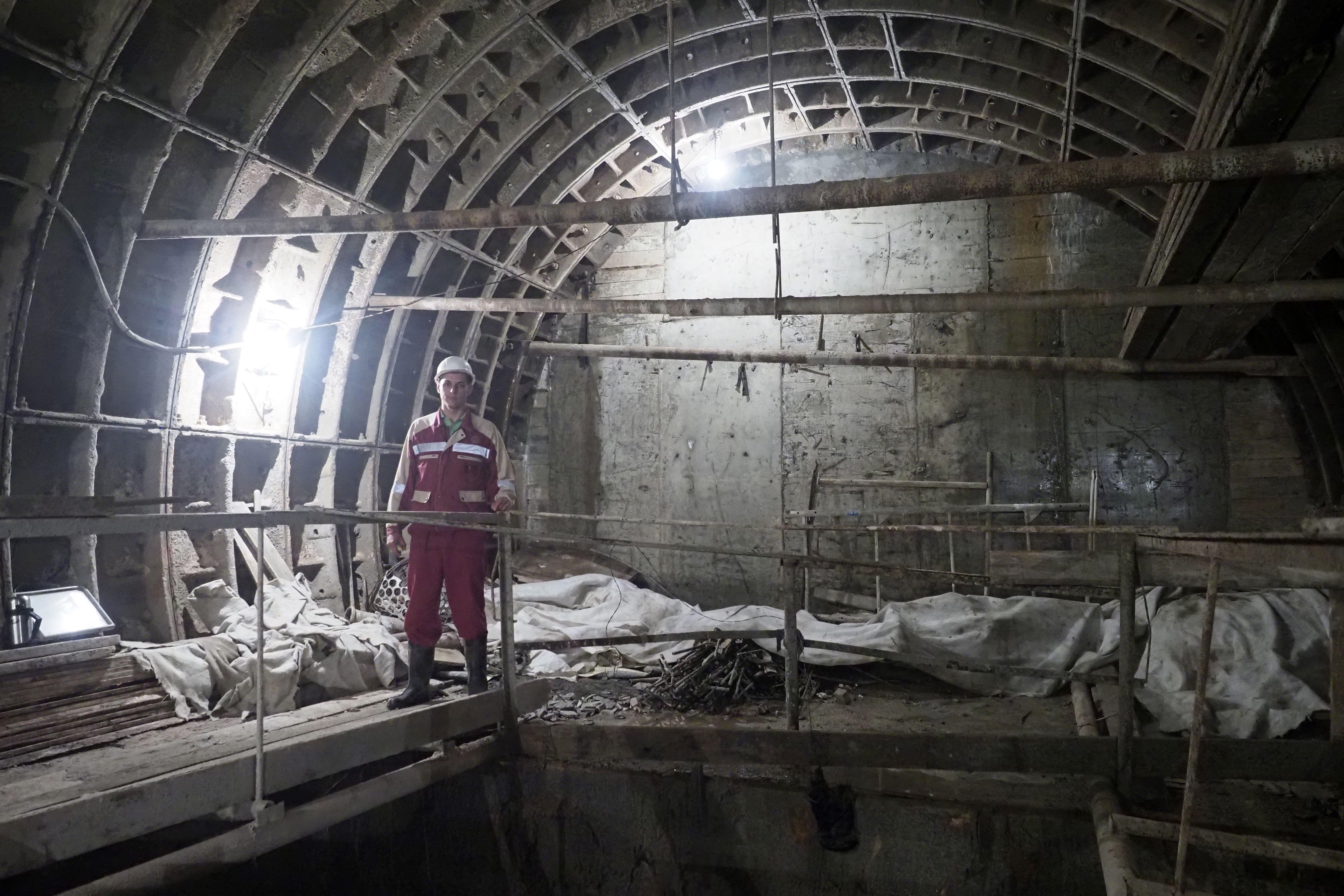Некоторые участки Бирюлевской линии проведут на глубине более 30 метров