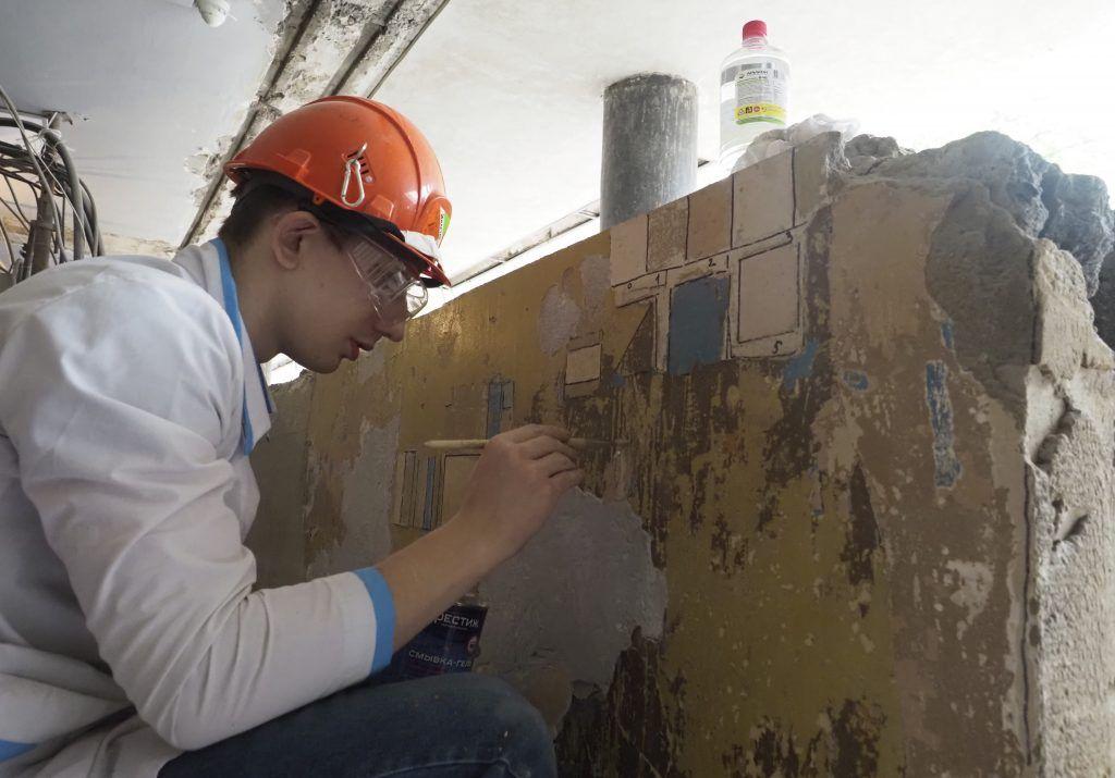 Работы по реставрации дома в Донском районе возобновили. Фото: Антон Гердо, «Вечерняя Москва»