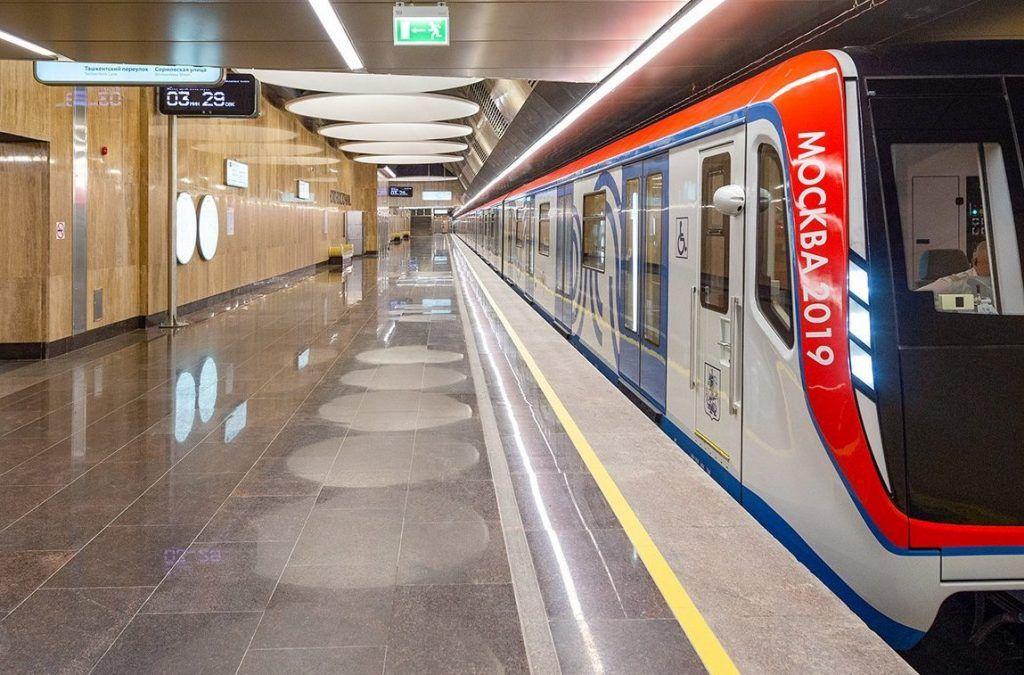 В Московском метрополитене количество пассажиров в сравнении с прошлой неделей увеличилось на 28%. Фото: сайт мэра Москвы