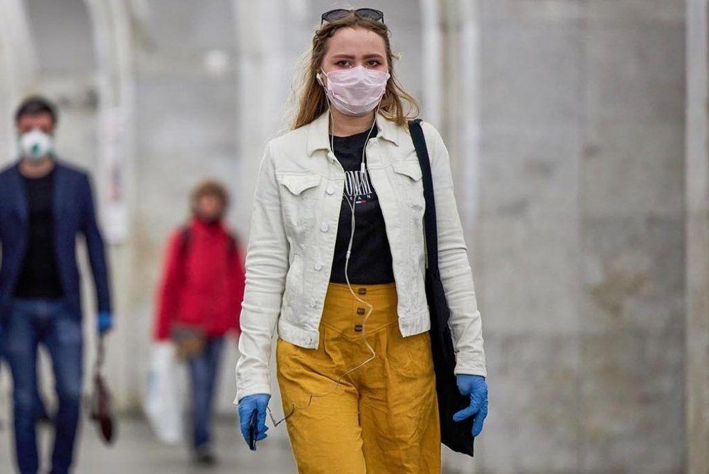 Дептранс: 99% пассажиров метро надели маски утром 15 мая. Фото: сайт мэра Москвы
