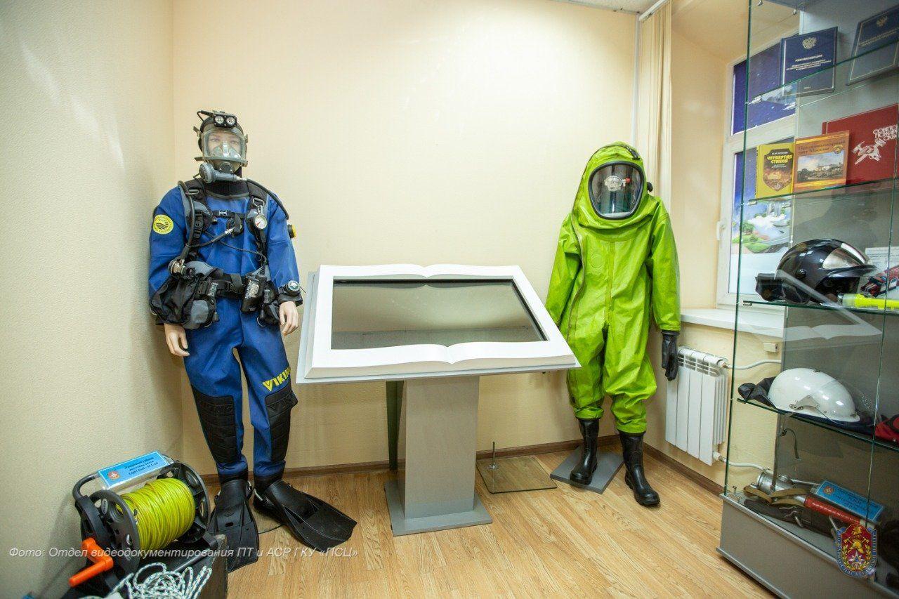 Музейная экспозиция Пожарно-спасательного центра Москвы ждёт окончания карантина и новых гостей