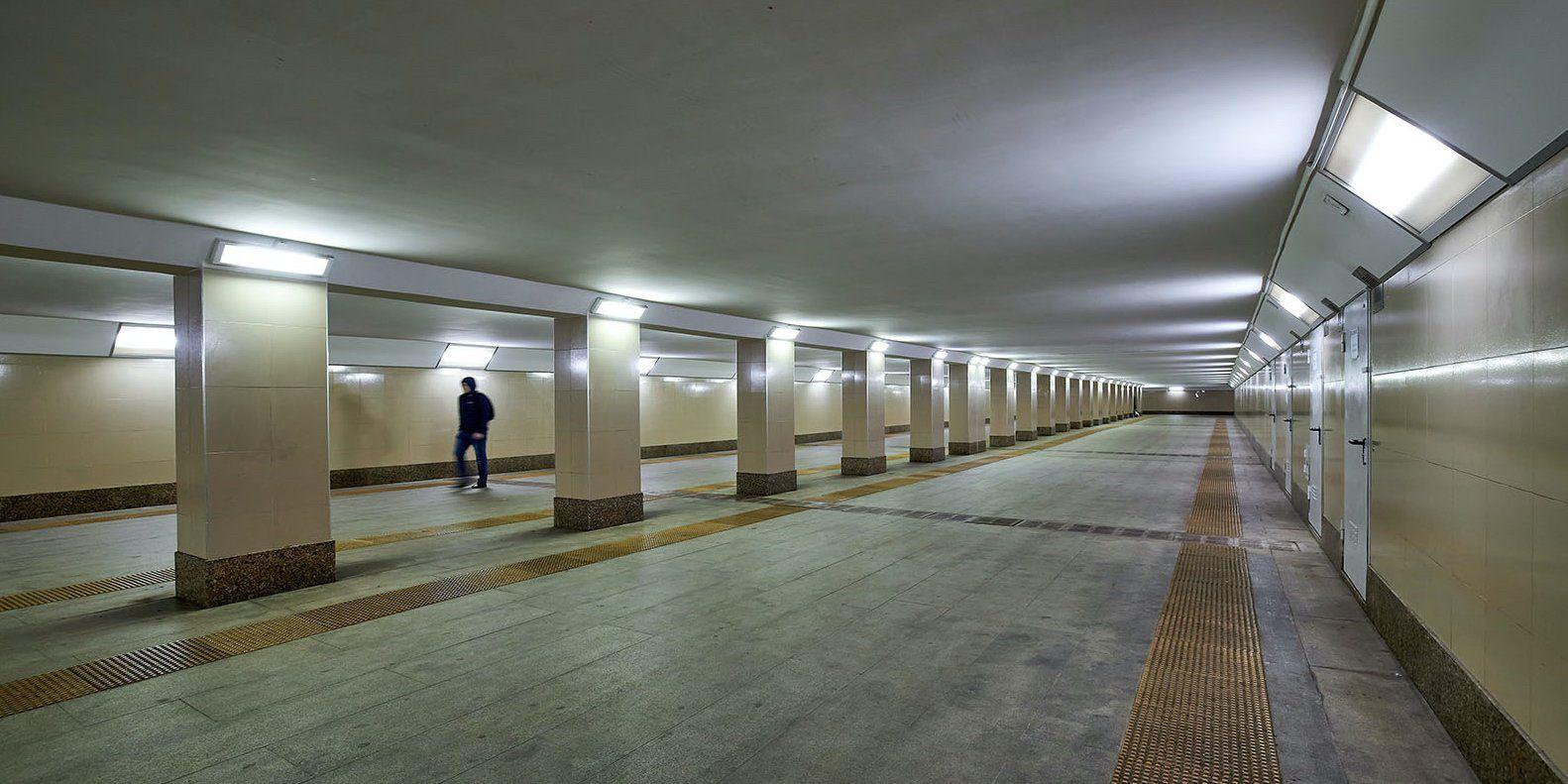 Два подземных перехода построят на юго-востоке Москвы