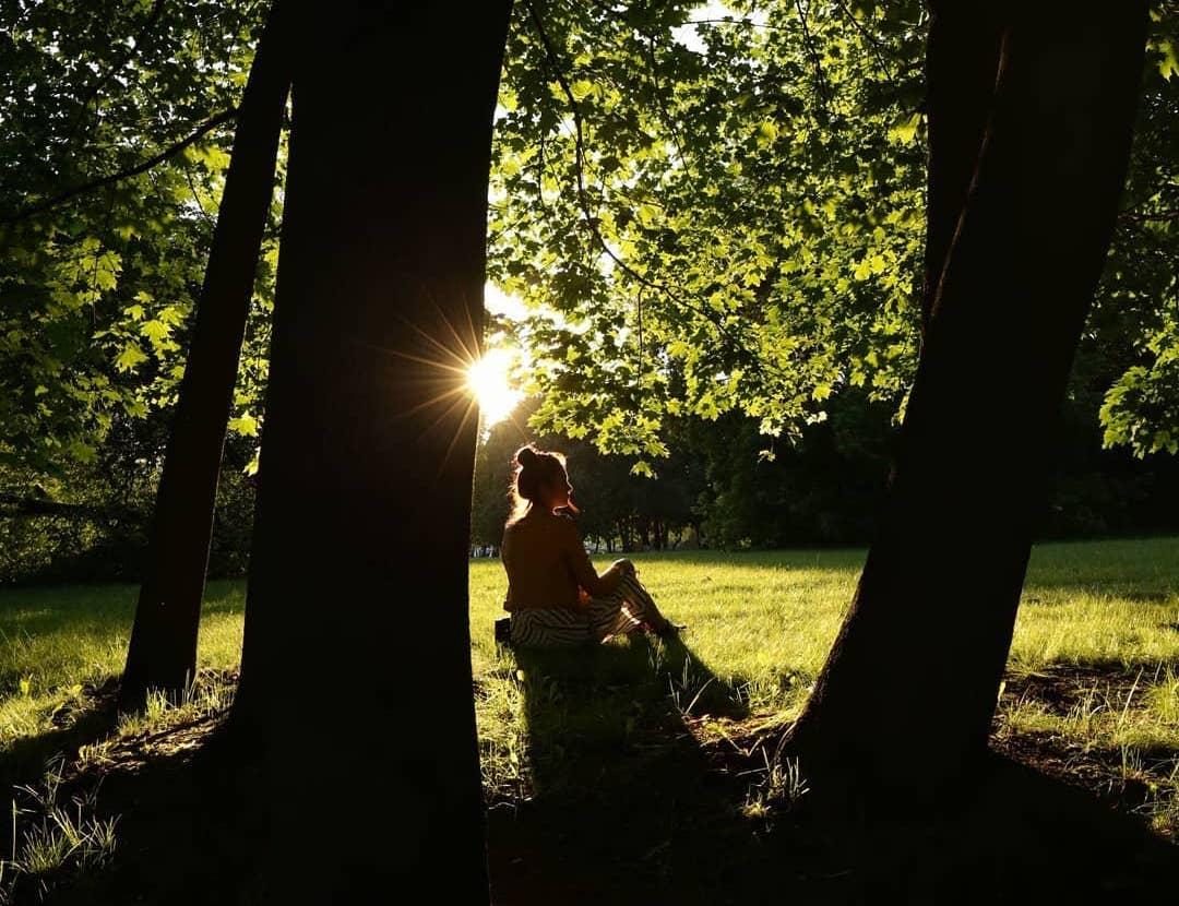 Вечернее «Царицыно»: народный корреспондент поделился фото с солнечной прогулки
