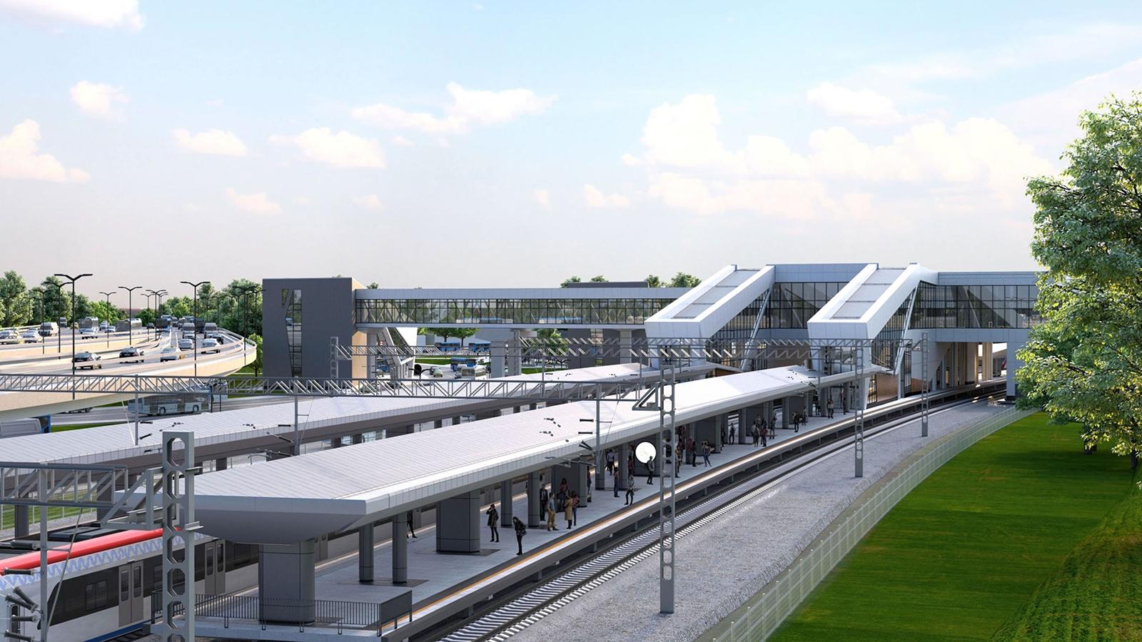 Проект станции МЦД-2 Печатники согласовали в Москве
