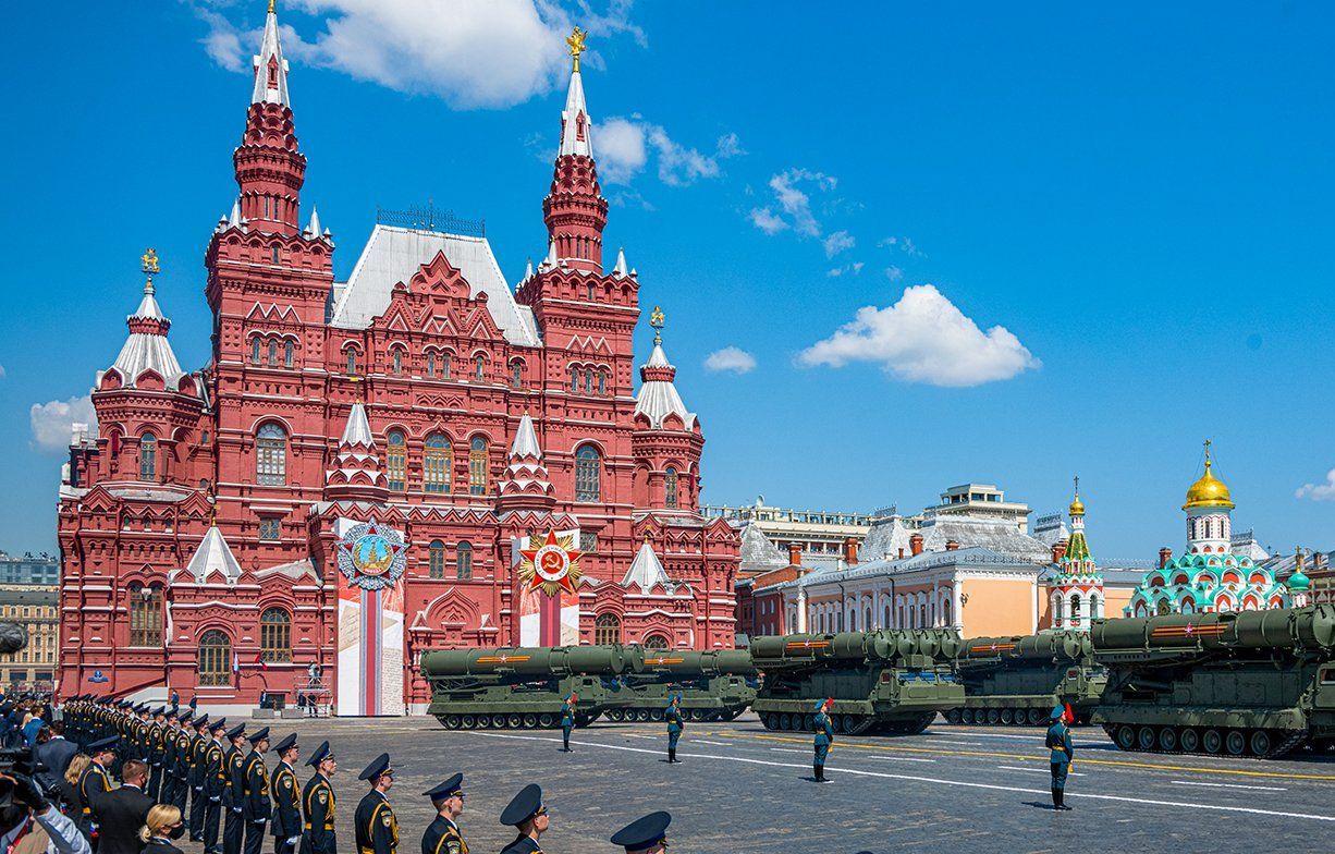 Московские кадеты приняли участие в Параде Победы на Красной площади