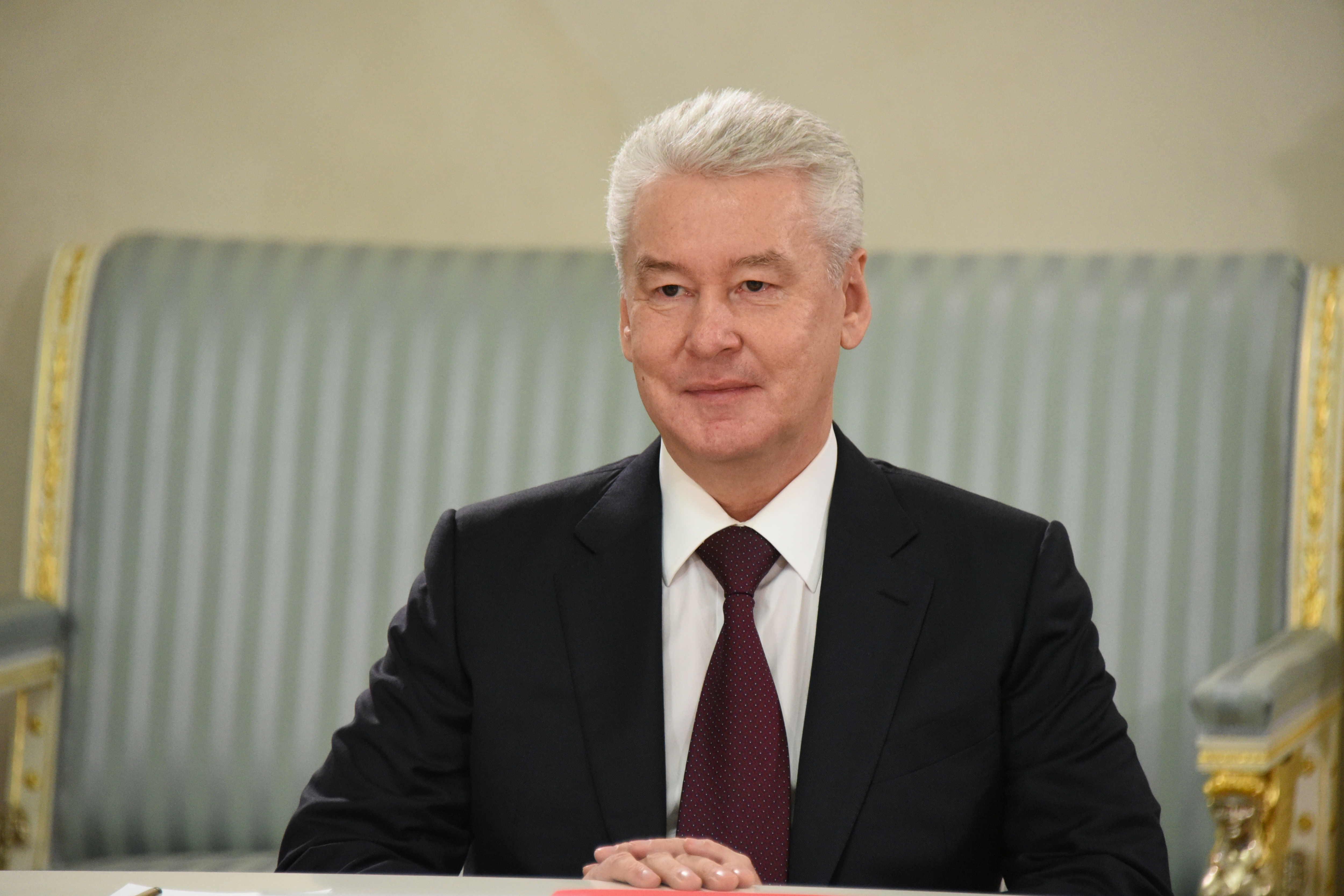 Собянин отменил с 9 июня график прогулок и пропускной режим в Москве